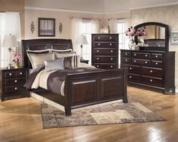 Ridgley 4 Piece Bedroom Group