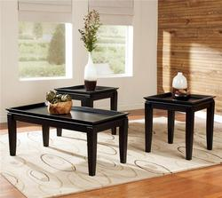 Delormy 3-in-1 Pack Contemporary Occasional Tables with 1 Cocktail Table and 2 End Tables