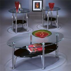 Dempsey Contemporary Occasional Table Group with 1 Cocktail Table and 2 End Tables
