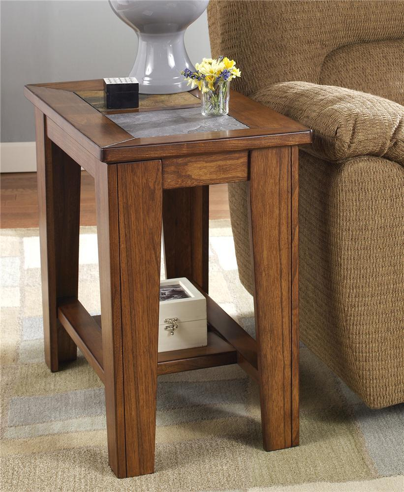Toscana Chairside End Table From Signature Design By Ashley Beverly Hills F