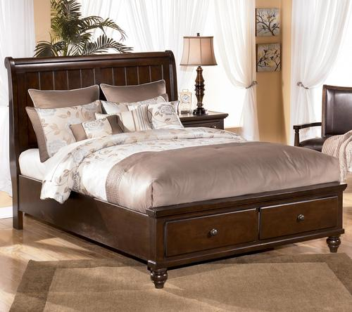 Ashley Furniture Sleigh Bed with Storage 500 x 444