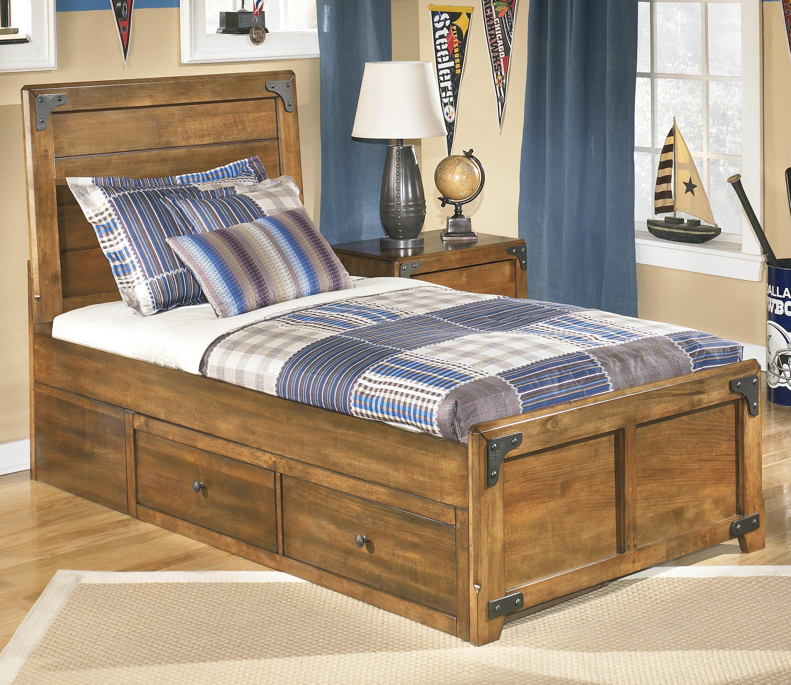 Ashley Furniture Twin Bed with Storage 2771 x 2400