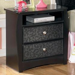 Enchanted Glade Charming Two Drawer Night Stand