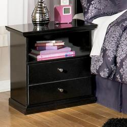 Maribel Solid Color 1 Drawer Nightstand with Shelf