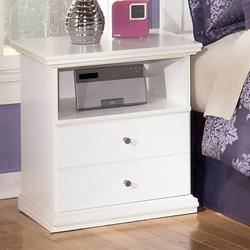 Bostwick Shoals Solid Color 1 Drawer Nightstand with Shelf