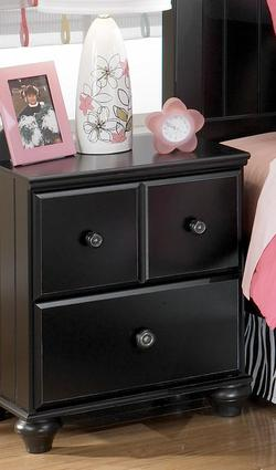Jaidyn Two Drawer Night Stand