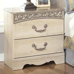 Catalina B196 Two-Drawer Nightstand
