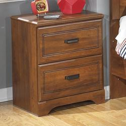 Barchan Two Drawer Night Stand