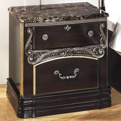 Hopedale Two Drawer Night Stand