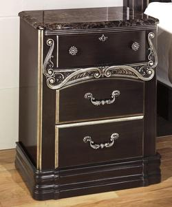 Hopedale Three Drawer Night Stand