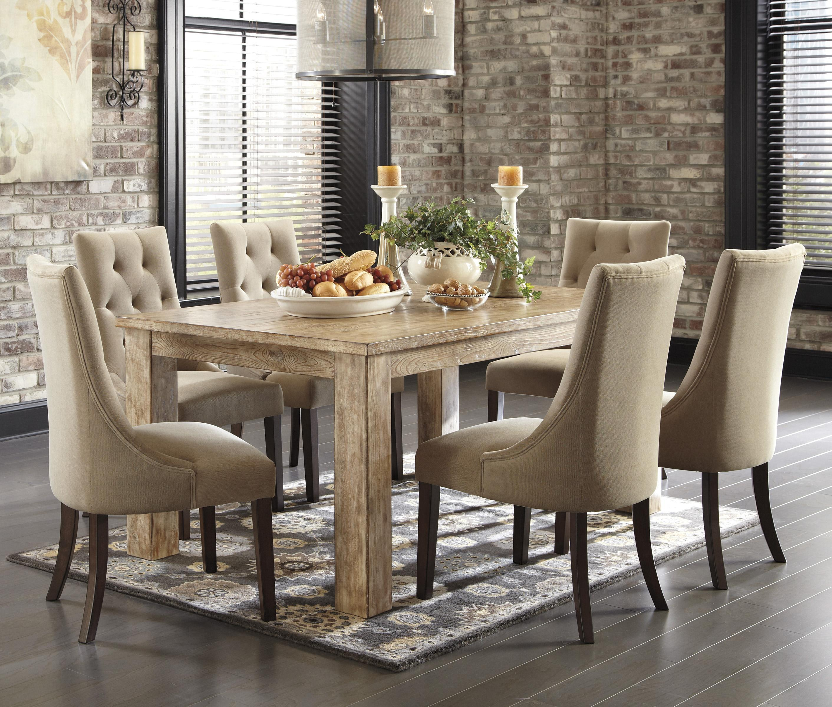 Dining Room Tables On Ashley Furniture Pine Dining Room Chairs