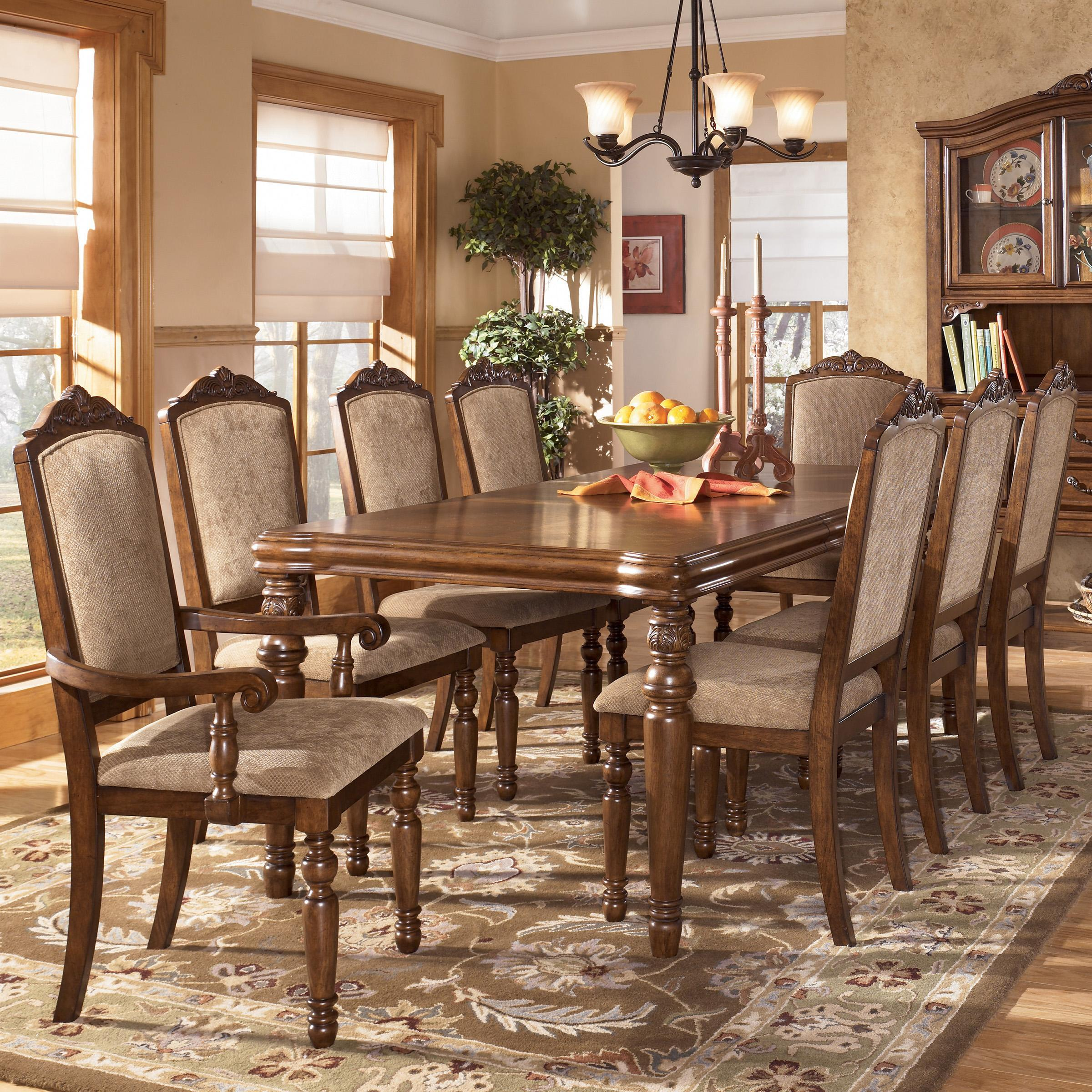 Ashley Dining Furniture: Dining Table: Ashley Dining Table Set