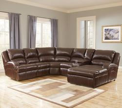Durablend® Harness Leather Sectional Sofa