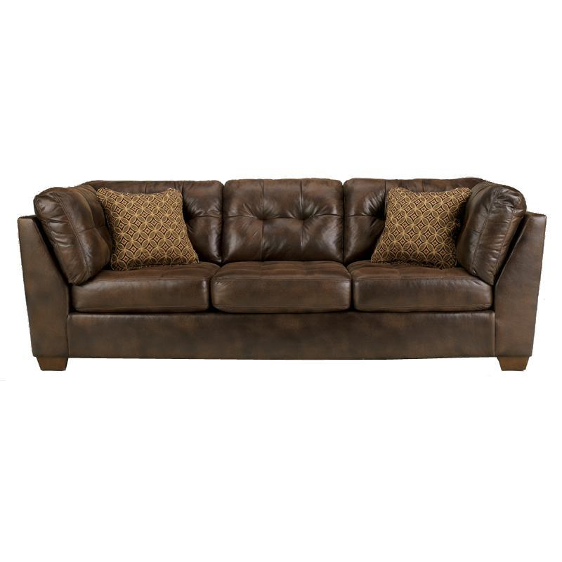 Frontier - Canyon Tufted Faux Leather Sofa