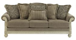 Parkington Bay - Platinum Traditional Roll Arm Sofa
