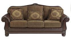 Beamerton Heights - Chestnut Tradtional Roll Arm Sofa