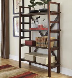 Hindell Park Farmhouse Open Bookcase