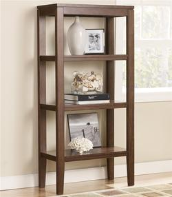 Deagan Pier Bookcase with 3 Shelves