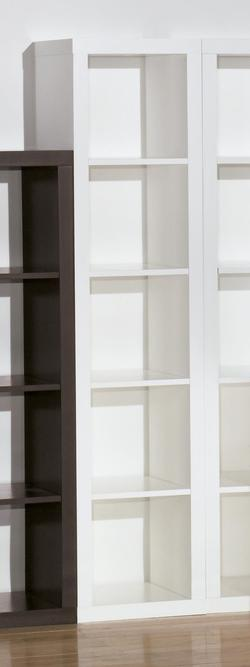 Honolulu - White Large Bookcase