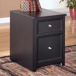 Carlyle 2 Drawer Mobile File Cabinet with Concealed Wheels