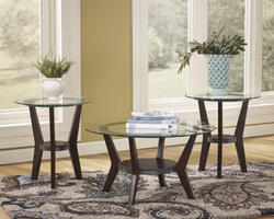 Fantell 3-in-1 Group Occasional Tables