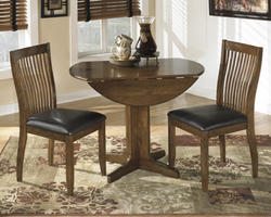Stuman Round Drop Leaf Table