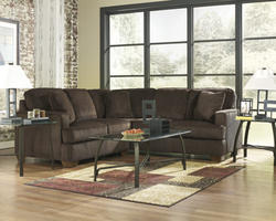 Atmore Chocolate LAF Loveseat