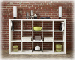 Honolulu - White Fifteen Cube Bookcase