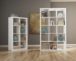 Honolulu White Fifteen Cube Bookcase