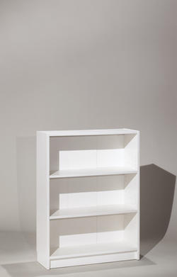 Honolulu White Medium Bookcase
