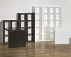 Honolulu White Five Cube Bookcase