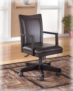 Carlyle Arm Chair with Swivel and Adjustable Height