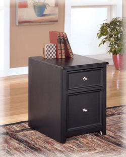 Carlyle 2 Drawer Mobile File Cabinet