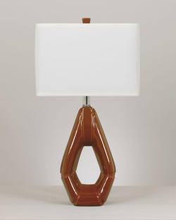 Rumiko Ceramic Table Lamp (2/CN)