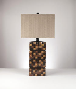 Helki Ceramic Table Lamp (2/CN)