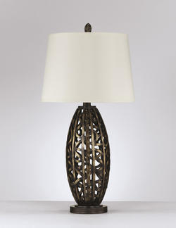 Norah Poly Table Lamp (2/CN)