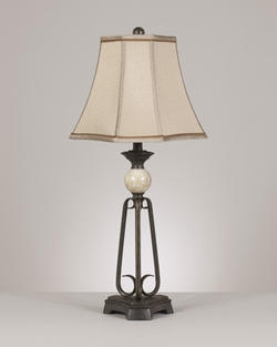Parlan Metal Table Lamp (2/CN)