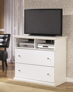 Bostwick Shoals 2-Drawer Media Chest