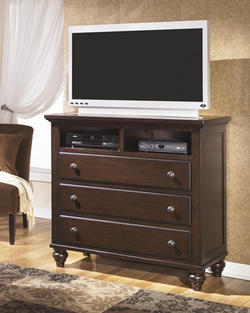 Camdyn 3 Drawer Media Chest