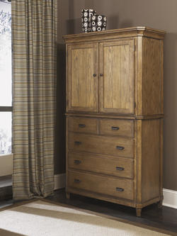 Danbury Heights Media Chest Hutch