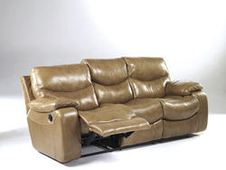Zackary - Brindle Reclining Sofa