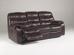 Rourke Burgundy Reclining Sofa