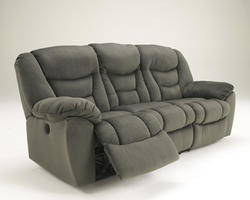 Biwabik - Pewter Reclining Power Sofa