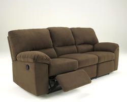 Kickoff - Chocolate Reclining Sofa