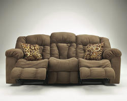 Macie - Brown Reclining Sofa