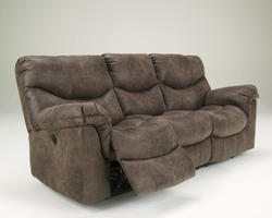 Alzena - Gunsmoke Reclining Sofa