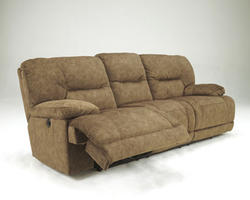 Gladiator Nutmeg Reclining Sofa