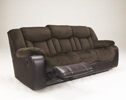 Tafton - Java Reclining Sofa