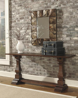Rustic Accents Console Table