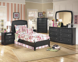 Enchanted Glade Charming Two Drawer NightStand